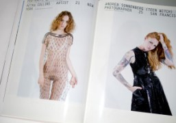 Preview of portraits by Sandy Kim in Purple Fashion #22 out now