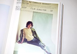 Preview our portraits by Camille Bidault Waddington in Purple Fashion #22 out...