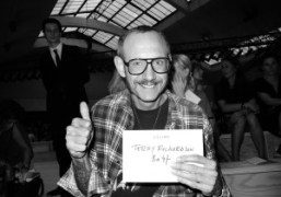 Terry Richardson at theCeline Spring / Summer 2012 show, Paris. Photo Olivier…