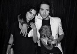 Chi Chi Menendez and Danny at Le Baron at the Delano Hotel…