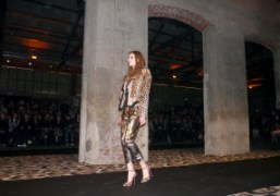 One look from the Just Cavalli F/W 2012 collection based on Cavalli's...