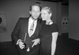 Derek Blasberg and Kirsten Dunst atVanessa TrainaandMax Snow'srehearsaldinner of their wedding, San…