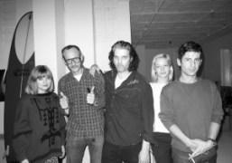 Terry Richardson, Russell Simins, Annabelle Dexter-Jones,André Saraivaand a friend at their Thanksgiving…