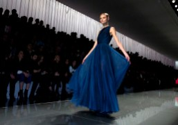 One look from the Dior F/W 2012 Collection, Paris.