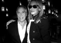 Tommy Hilfigerand his wife,Dee Ocleppo, at the Tommy Hilfigershow, New York.Photo Olivier…