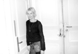 VANESSA BRUNO'S AFTER SHOW DINNER at her apartment, Paris