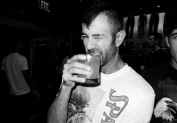 Purple contributor Jeremy Kost at the Armani Jeans Art Basel party, Miami….