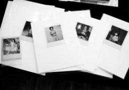 A set of Araki polaroids at Michael Hoppen Gallery'sThe Splinter Art Fair,…