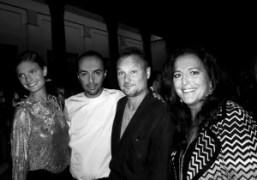 Party in honor of Juergen Teller, Milan