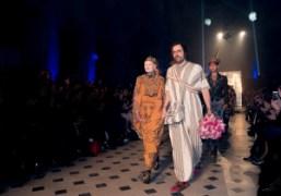 Vivienne Westwood F/W 2014 show at Oratoire du Louvre, Paris