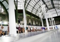 Chanel S/S 2013 show at the Grand Palais, Paris