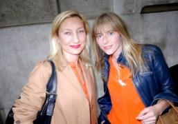 Xenia Degerand Lisa Thamm from Mykita at the Purple office, Paris. Photo…