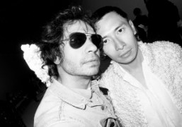 Olivier Zahm and Terence Koh after the Giambattista Valli Haute Couture F/W…