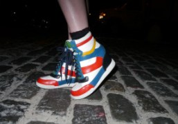 Marc by Marc Jacobs Hi-Top wedge snearkers (sold out apparently), New York….