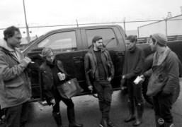 Sad scene in front ofMax'sdevastated studio in Red Hook withPietro, Victoria Traina,…