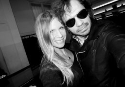 Barbara Mariani and Olivier Zahmat Rick Owens store inParis. Photo Olivier Zahm