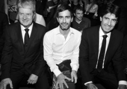 Yves Carcelle, Marc Jacobs and CEO of Louis VuittonJordi Constans at theLouis…