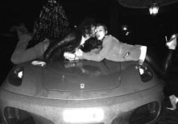 Olivier Zahm and Milla Jovovich, Milan
