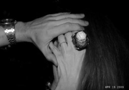 Victoire de Castellane wearing one of her Dior Joaillerie rings at Le…