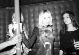 Elle, Sophia Hesketh and Julia Restoin-Roitfeld dancing at the Rodarte Met Ball…