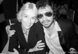The French designer Vanessa Bruno and me at Gaspard Noe's film premiere…