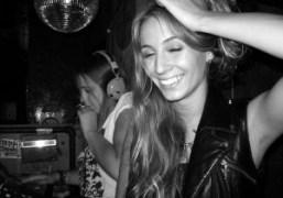 Cassie Coane and Harley Viera-Newton DJing at Lit Lounge, New York. Photo…