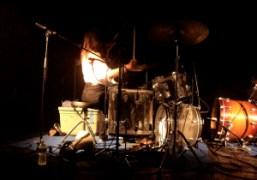 Lizzi Bougatsos's band IUD performing at Santos Party House, New York. Photo…