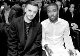 Kris van Assche and Frank Ocean at the Christian Dior F/W 2013…