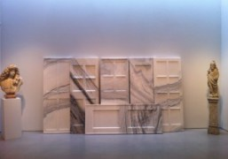 Six marble doors by the heroic contemporary artist from China Ai Weiwei,…
