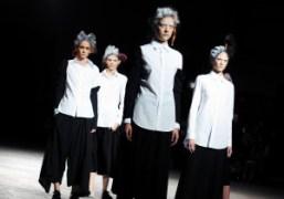 Yohji Yamamoto S/S 2014 show, Paris