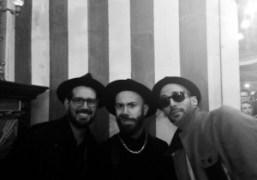 JR, Jose Parla and Yoann Lemoine at the Russian Tea Room to…