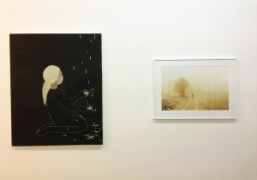 Works by Madoka and Ola Rindal at their show One Two on…