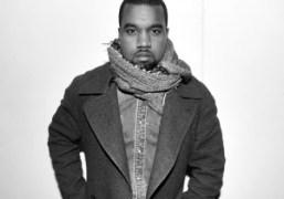 Kanye West after the Raf Simons men's F/W 2013 show, Paris.Photo Stéphane…