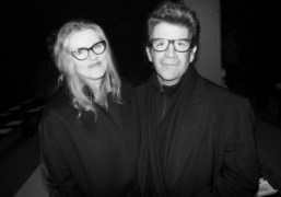 Barbara Sukowa and Robert Longoat theNarciso RodriguezNew York Fashion WeekF/W 2014 show,…