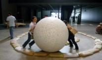 Doug Aitken TV Takoever / Robert Morris Bodyspacemotionthings at Tate Modern