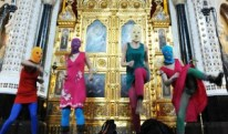 """Karley Sciortino TV Takeover / Pussy Riot's """"Punk Prayer — Mother of God, Chase Putin Away!"""""""