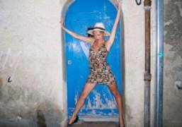 Jennifer Eymere, Saint Tropez. Photo Olivier Zahm