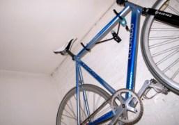Paul Sevigny's bike in his room, New York. Photo Olivier Zahm