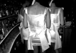 Waitresses at the Boom Boom Room, Standard Hotel, New York. Photo Rachel…