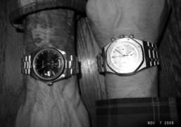 Terry Richardson's Rolex and Olivier Zahm's Audemars Piguet Royal Oak at The…