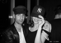 Andre Saraiva and Anouck Lepere at the Boom Boom Room, Standard Hotel,…