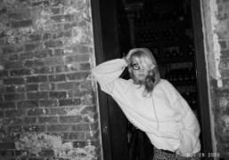 Mademoiselle Aurel Schmidt at Bacaro, New York. Photo Olivier Zahm