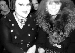 Beth Ditto and Sonia Rykiel at the Sonia Rykiel F/W 2010 show,…