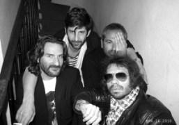 Frederic Beidbeder, André Saraiva, Jean-Yves Le Fur and Olivier Zahm at Le…