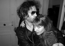Joséphine de la Baume and me at Jennifer Eymere's birthday, Place des…