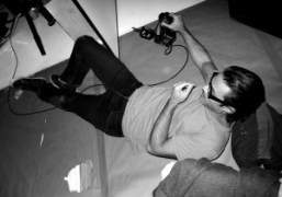 Mario Sorrenti shooting, New York. Photo Olivier Zahm