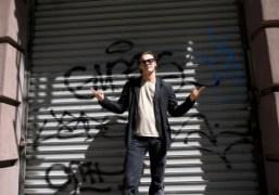 Mario Sorrenti in front of his studio, Centre Street, New York. Photo…