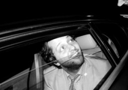 Derek Blasberg leaving the VIP Room after the 2011Chanel Cruise party, Saint-Tropez….