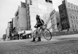 Aurel Schmidt on Lafayette Street, New York. Photo Olivier Zahm
