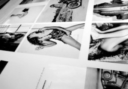 End of the printing of the next Purple Fashion #14, Liège. Photo…
